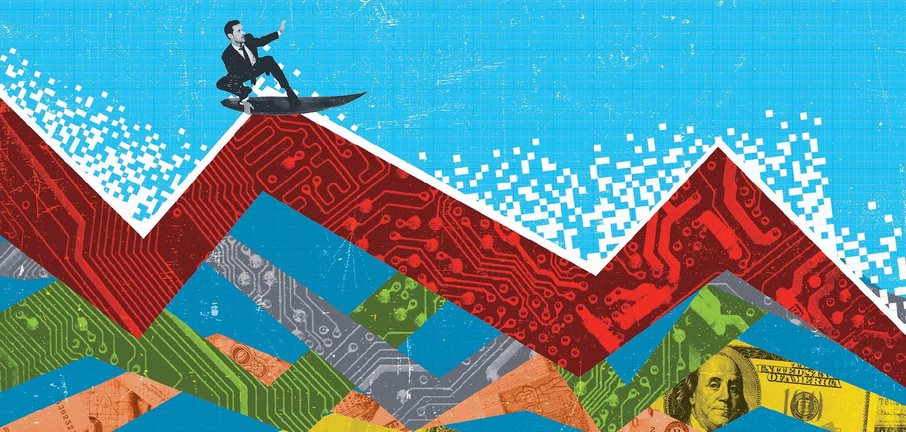 Asian Investor Artwork Illustration by Chris Howlett Dubai