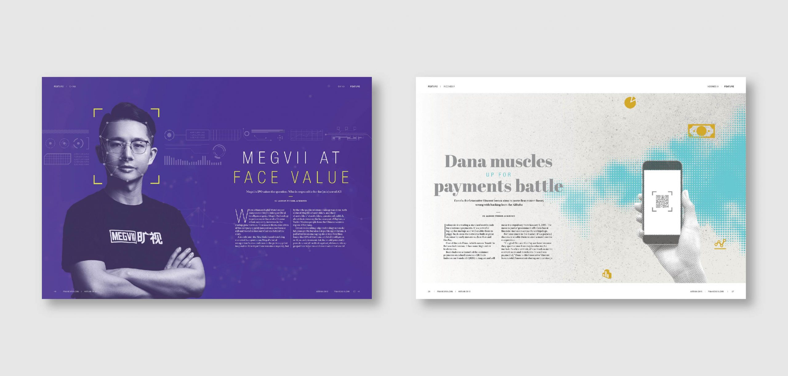 Finance Asia Magazine Design by Chris Howlett Dubai