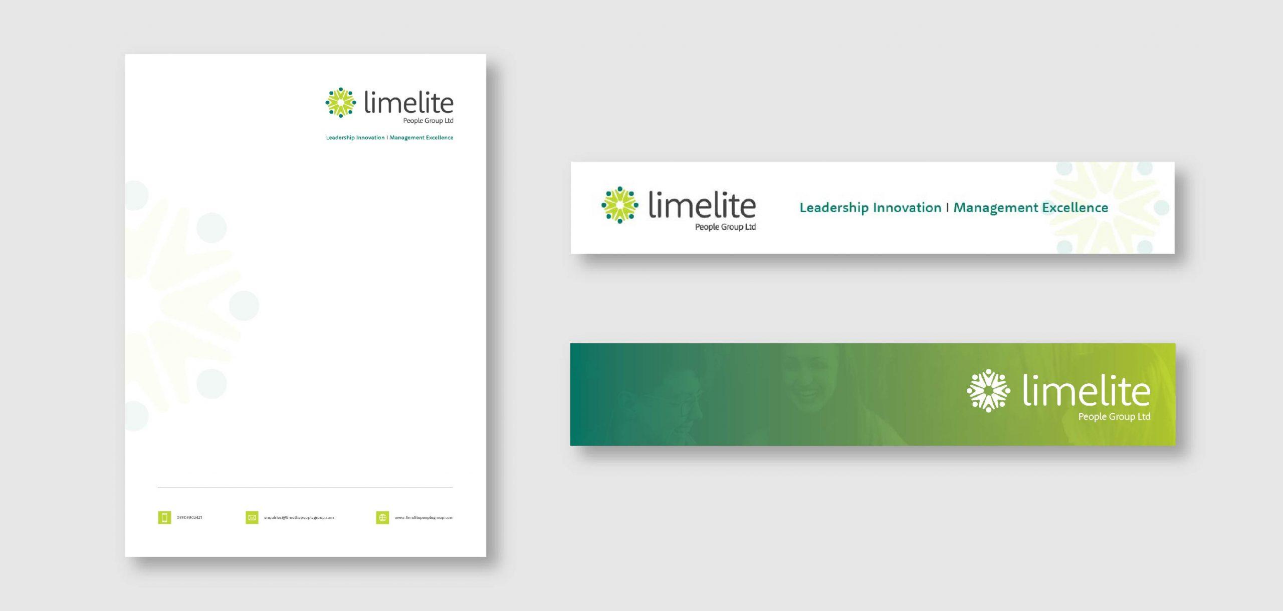 Limelite Branding and Logo by Chris Howlett Dubai